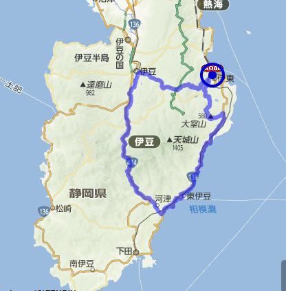 伊東研修ライドAコース