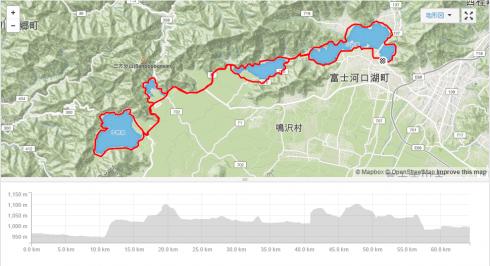 富士4湖MAP